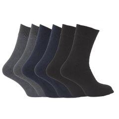 FLOSO Herren Thermo Socken, Multipack, 6-er Pack