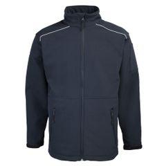 RTY Workwear Herren Softshell-Jacke, winddicht, wasserdicht