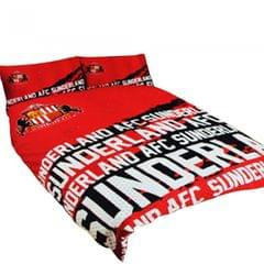 Wende-Bettwäsche mit Sunderland AFC Design