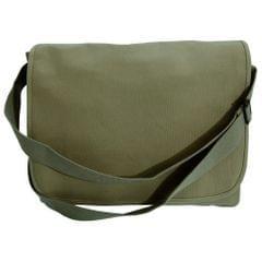 Bagbase Classic Canvas Messenger-Tasche mit Schulterriemen.