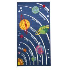 Flair Rugs Kinder Teppich mit Planeten-Design