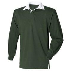 Front Row Kinder Unisex Polo Shirt Rugby, langarm