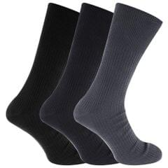 Herren Big Foot Diabetiker Socken (3 Paar)