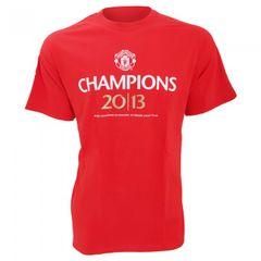 Herren T-Shirt Manchester United FC Champions 2013