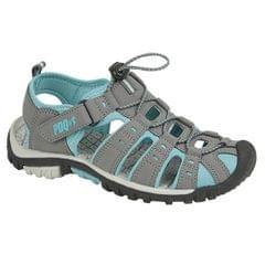 PDQ Damen Sport Sandalen mit Toggel und Klettverschluss