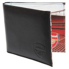 Arsenal FC Herren Leder Geldbörse mit Stadium Motiv