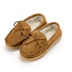 Eastern Counties Leather Kinder-Moccasins mit Futter aus Wollmischung