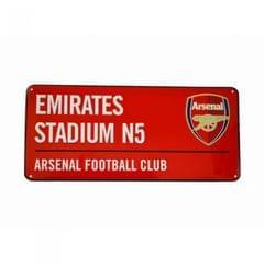 Arsenal Wandverzierung/Straßenschild