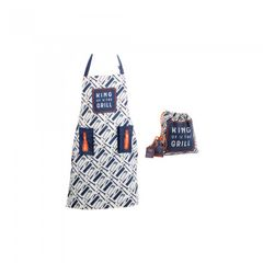 CGB Giftware The Hardware Store Grillschürze mit Slogan King Of The Grill