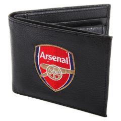 Arsenal FC Herren Leder Geldbörse mit Club Wappen