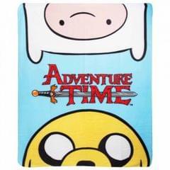 Adventure Time Kinder Fleece Decke