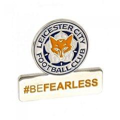 Leicester City FC Be Fearless Anstecknadel