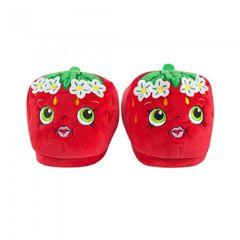 Shopkins Mädchen Strawberry Kiss 3D Hausschuhe