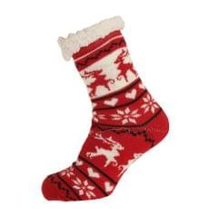 Aler Womens/Damen Thermo Reindeer Socken