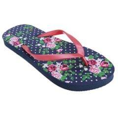 FLOSO Damen Floral Flip Flops