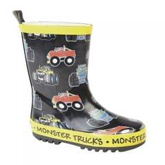 Stormwells KInder Monster Trucks Gummistiefel
