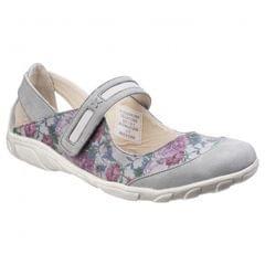 Fleet & Foster Damen Mary-Jane-Schuhe mit Blumenmuster