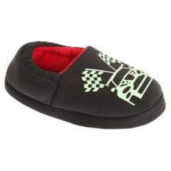 Slumberzzz Childrens/Kinder Pantoffeln die im dunkeln Leuchten im Car Design