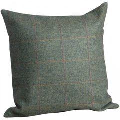 Hill Interiors Greenfinch Yorkshire Tweed Kissenbezug