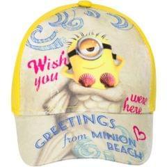 Despicable Me Kinder Minion Beach Kappe