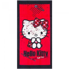 Hello Kitty Kinder Handtuch Punk Chic