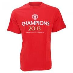 Manchester United FC - T-shirt officiel Champions 2013 - Homme