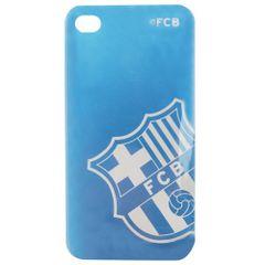 FC Barcelona - Coque métallique pour iPhone 4/4S