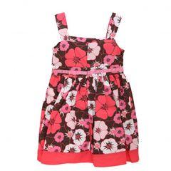 Robe d'été à motif floral pour fille