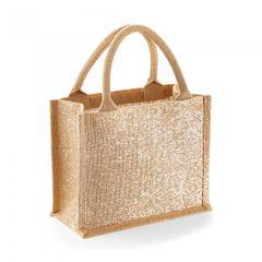 Westford Mill - Mini sac cadeau en jute brillant