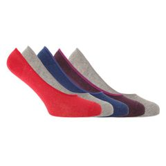 Soho Collection - Socquettes invisibles (5 paires) - Homme