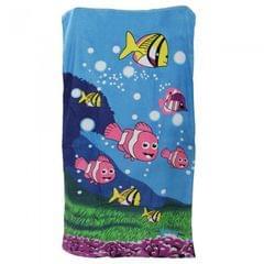 Serviette de plage à motif poissons