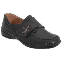 Boulevard - Chaussures larges à sangle à scratch - Femme