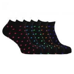 Soho Collection - Socquettes à pois (5 paires) - Homme