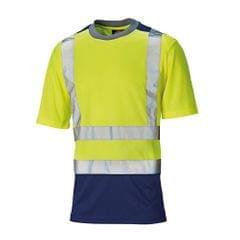 Dickies - T-shirt à manches courtes haute visibilité - Homme