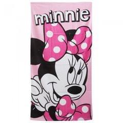 Disney Minnie Mouse - Serviette de plage 100% coton