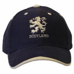 Casquette de baseball brodé Scotland et lion écossais - Adulte unisexe