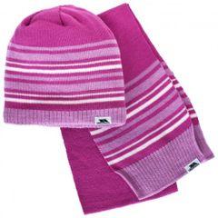 Trespass Hedgehog - Ensemble bonnet et écharpe - Enfant unisexe