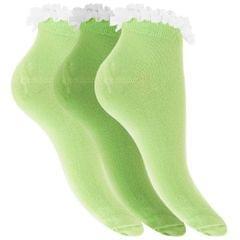 Chaussettes courtes (3 paires) - Femme