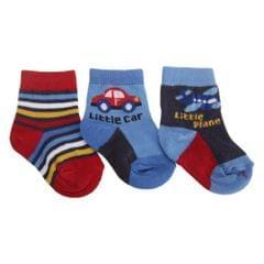 Chaussettes à motif voitures (Lot de 3) - Bébé garçon