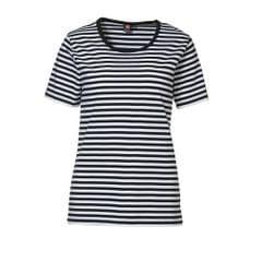ID - T-shirt rayé à manches courtes (coupe régulière) - Femme