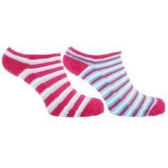 Socquettes rayées - Femme (lot de 2 paires)