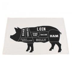 CGB Giftware Dads BBQ - Torchon 'Pork Cut'