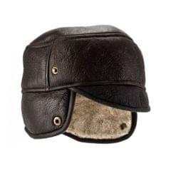 Eastern Counties Leather - Bonnet de trappeur Caxton en peau de mouton - Homme