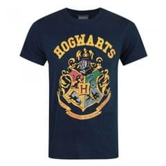 Harry Potter Herren Hogwarts Wappen T-Shirt