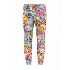 Shopkins - Leggings Collage Personnages - Fille