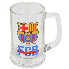 FC Barcelona offizieller Bierkrug mit Wappen