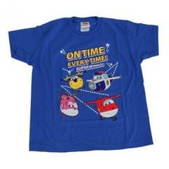 Super Wings Kleinkinder Jungen On Time Every Time T-Shirt