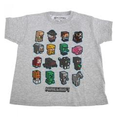 Minecraft Kinder Block Graphik T-Shirt