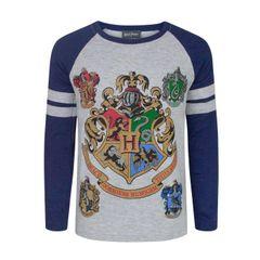 Harry Potter offizielles Jungen Hogwarts Raglan T-Shirt