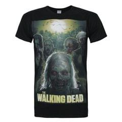 Walking Dead offizielles Herren Poster T-Shirt